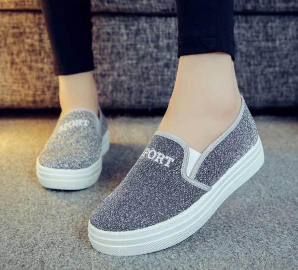 Farmhug-shoes รองเท้าผ้าใบแฟชั่นสำหรับผู้หญิง - Daimon
