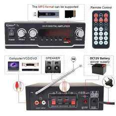 Khuếch Đại Công Suất Bluetooth HIFI 800W, Bộ Khuếch Đại Âm Thanh Công Suất Kỹ Thuật Số Cho Loa Treble, Điều Khiển Âm Trầm, USB SD FM