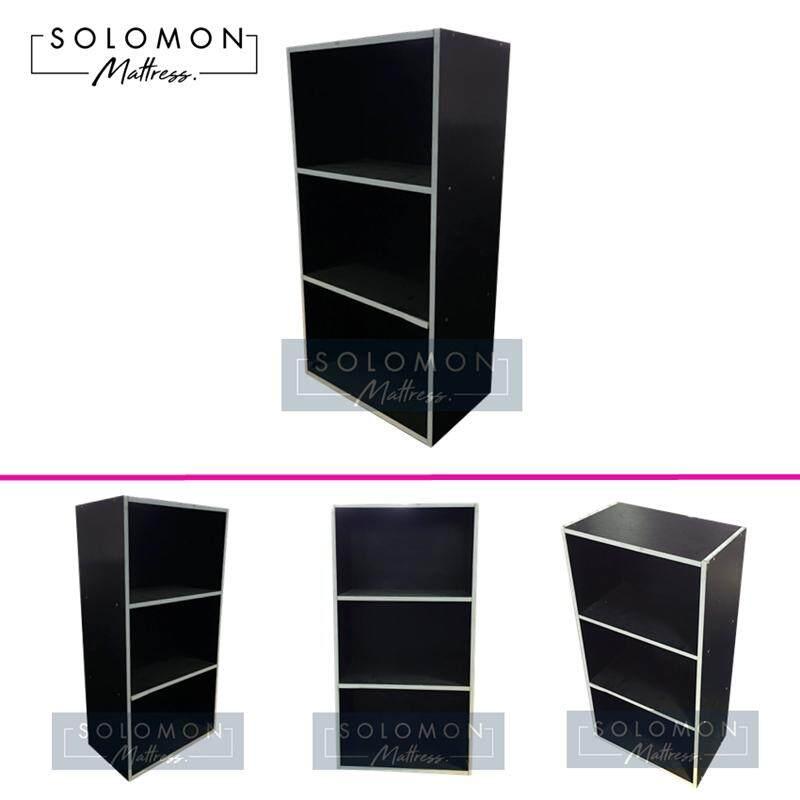 Solomon กล่องอเนกประสงค์สี 3 ชั้น (สีดำ) By Wing-Infurniture.