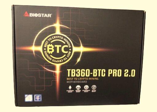 Mainboard Biostar Tb360-Btc Pro 2.0 (รับประกัน1ปี).