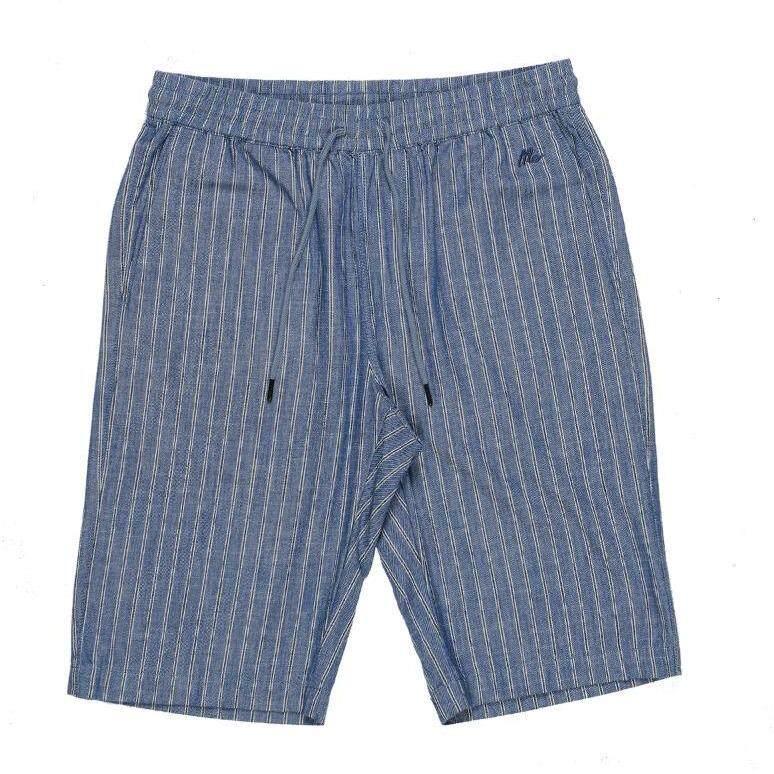Mc Jeans กางเกงยีนส์ขาสั้นหญิงและชาย เอวยางยืด MCSZ005