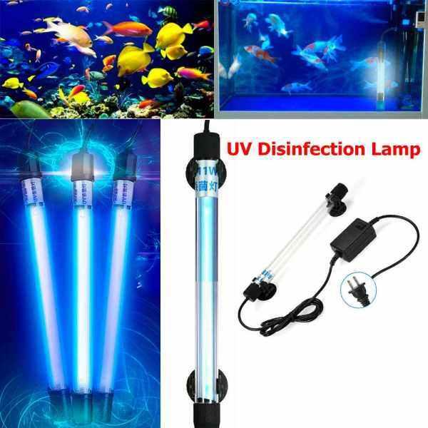 Bảng giá YESMILE New Pond Fish Tank Germicidal Light Waterproof Aquarium Submersible UV Light uv sterilizer lamp Sterilizer Light Ultraviolet Lamp