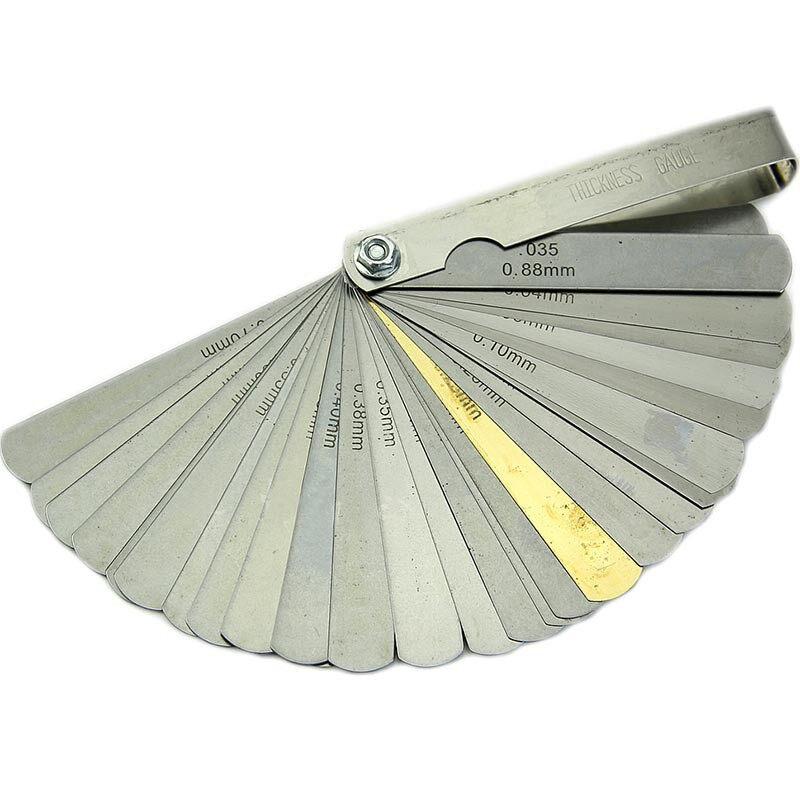 ฟิลเลอร์เกจ 32ใบ 32 Blade Feeler Gauge.