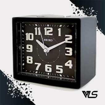 SEIKO นาฬิกาตั้งปลุก Bell Alarm มีพรายน้ำ รุ่น QHK024K