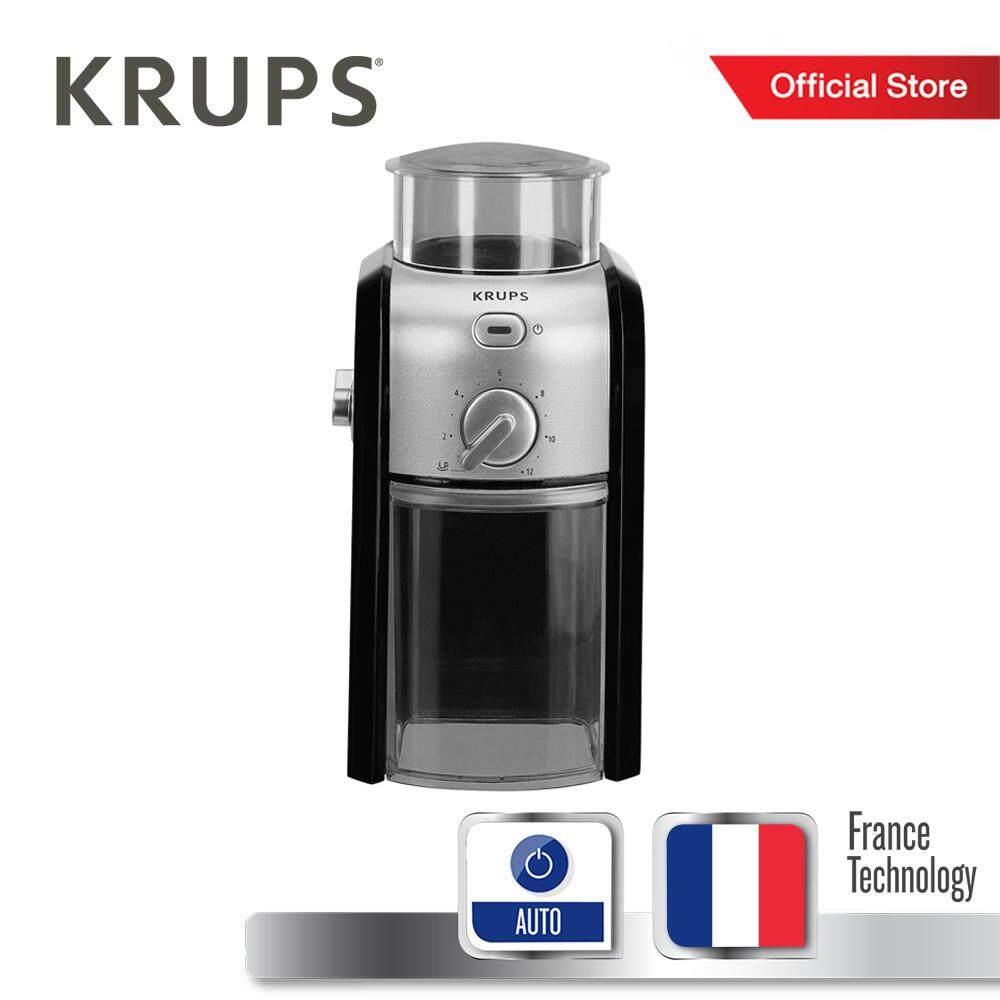 Krups เครื่องบดเมล็ดกาแฟ รุ่น Gvx242 Coffee Grinder -Black By Tefal Official Store.