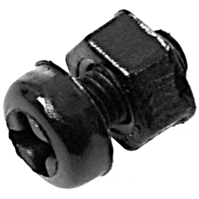 180 Pcs M3 Nylon Hex Spacers Screw Nut Stand-off Assortment Kit Black
