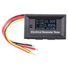 ราคา เครื่องวัดมัลติมิเตอร์เทสเตอร์ 7In1 Oled Ammeter Voltmeter Dc 33V 3A Amp Voltage Capacity Power Energy Run Time Temperature Meter เป็นต้นฉบับ