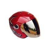 ขาย ซื้อ หมวกกันน็อค สเปรซคราวน์ ฟีนิกซ์1 สีแดง หน้าปรอท