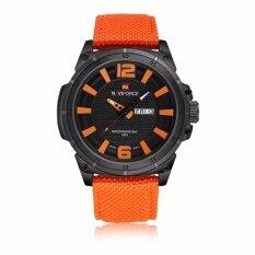 ขาย รับประกัน 1 ปี นาฬิกาข้อมือ Naviforce ระบบควอตซ์ สายผ้าไนล่อน รุ่น Nf9066 กันน้ำ ราคาถูกที่สุด