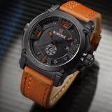 ซื้อ รับประกัน 1 ปี สินค้าอยู่ในไทย นาฬิกา Naviforce รุ่น Nf9099 สายหนัง เครื่องญี่ปุ่น กันน้ำ 30 เมตร แสดงวัน วันที่ Naviforce ถูก