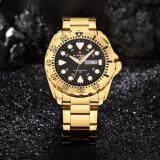 ราคา รับประกัน 1 ปี นาฬิกาข้อมือ Naviforce ทรง Seiko สายแสตนเลสสีทอง รุ่น Nf9105 ของแท้100 กันน้ำ3Atm ใหม่ล่าสุด
