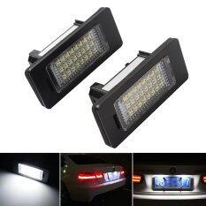 ราคา 1 Pair 3W Car Error 24 Led License Number Plate Light Lamp For Bmw ถูก