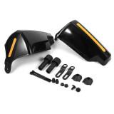 โปรโมชั่น 1 Pair Universal Motorbike Handguards Protectors Pattern Black Intl จีน