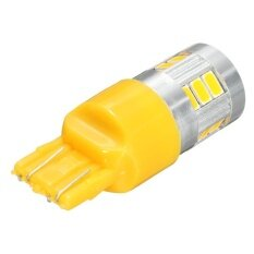 ราคา 1 Pcs 7443 7440 T20 Led Turn Signal Light Drl Projector Lens Amber Yellow Intl