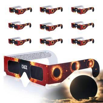 10 - Pack Premium ISO และรับประกันคุณภาพจาก CE Lunt SOLAR Eclipser แว่นตา - INTL