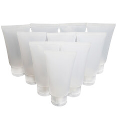 โปรโมชั่น 10ชิ้น 50 มล ว่างดีดฝาพลาสติกเติมน้ำกลั่นด้านท่องเที่ยวร่างกายเครื่องสำอางโลชั่นแชมพูขวดบีบมือ จีน