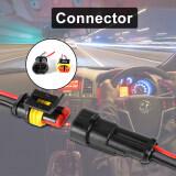 ซื้อ 10 Set 2 Pin Car Amp Electrical Wire Connector Plug Female Male Waterproof Bi502 Intl Xcsource เป็นต้นฉบับ