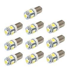 ซื้อ 10 X T11 Ba9S White 5 Led 5050 Smd Car Wedge Side Light Lamp Bulb 12V Intl ออนไลน์ จีน