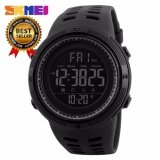 100 Genuine New Skmei Men S Sports Watch Chronograph Alarm Clock Digital Watch 50M Waterproof Dual Time Countdown Stopwatch 1251 Intl ใหม่ล่าสุด