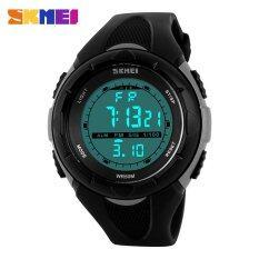 ซื้อ 100 Genuine Skmei Men Sports Military Watches Led Digital Man Brand Watch 5Atm Dive Swim Dress Fashion Outdoor Boys Wristwatches ออนไลน์