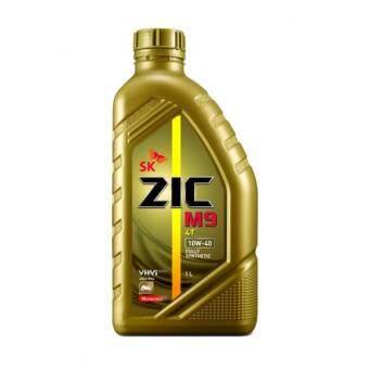 น้ำมันเครื่องสังเคราะห์แท้100% Zic M9 10w40