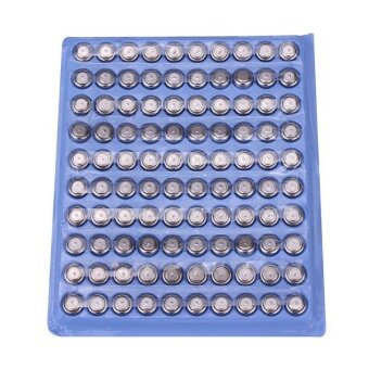 100PCS SR626 Cell Button Coin Battery Watch Toys Electronic Calculator - intl