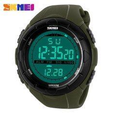 ส่วนลด 1025 นาฬิกาผู้ชายกีฬานำดิจิตอลนาฬิกาทหาร 50 เมตรดำน้ำนาฬิกาข้อมือ Relogio Masculino บทบาทบุรุษนาฬิกาด้านบนแบรนด์นาฬิกา นานาชาติ จีน