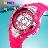 1077 นาฬิกาแบรนด์นาฬิกาเด็กกีฬาเด็กเด็กสาวนำดิจิตอลปลุกจับเวลากันน้ำนาฬิกาข้อมือเด็กแต่งตัว นานาชาติ เป็นต้นฉบับ