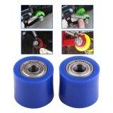 ซื้อ 10Mm Drive Chain Pulley Roller Slider Tensioner Wheel Guide For Street Bike Motorcycle Atv Blue Intl ออนไลน์ จีน