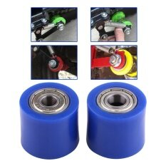 ราคา 10Mm Drive Chain Pulley Roller Slider Tensioner Wheel Guide For Street Bike Motorcycle Atv Blue Intl Unbranded Generic ออนไลน์