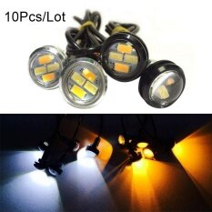 ขาย 10Pcs 23Mm 5630 External Lights Source Led Drl Eagle Eye Daytime Running Warning Fog Light Turning Signal Intl ถูก
