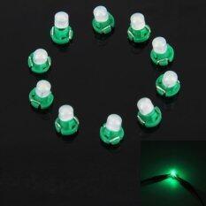 ราคา 10Pcs 2W T3 Wedge Instrument Panel Led Light Dashboard Gauge Cluster Indicator Lamp Bulb Green Light Intl ใหม่