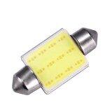 ซื้อ 10Pcs Cob 3W Car Bulbs Interior Dome Festoon Lights 12V White Light Intl Vakind ออนไลน์