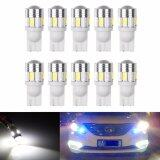 โปรโมชั่น 10Pcs T10 W5W 168 194 Smd Led Car Wedge Side Light Bulb Lamp For Car Tail Light Side Parking Dome Door Map Lighting Intl จีน