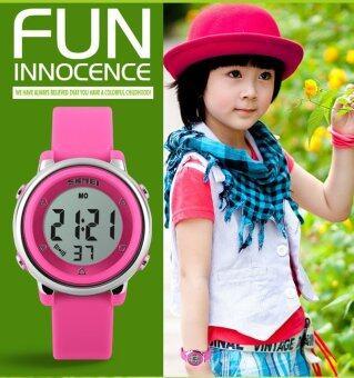 นาฬิกาแบรนด์นาฬิกา 1100 เด็ก LED นาฬิกาดิจิตอล Relogio Feminino กีฬานาฬิกาเด็กการ์ตูนวุ้น Relojes Mujer นาฬิกาข้อมือ