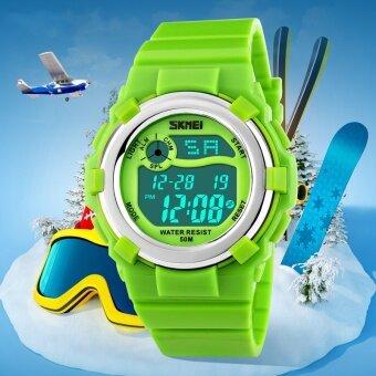เด็ก 1161 นาฬิกายี่ห้อ SKMEI นาฬิกาแฟชั่นกีฬา LED ดิจิตอลนาฬิกามัลติฟังก์ชั่นกันน้ำนาฬิกาข้อมือสำหรับเด็ก - นานาชาติ