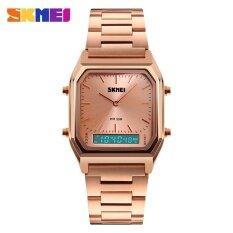 ราคา ราคาถูกที่สุด นาฬิกาข้อมือนาฬิกา 1220 ผู้ชายนาฬิกาข้อมือควอตซ์นาฬิกาดิจิตอลคู่เวลานาฬิกากีฬาโครโนกราฟไฟหลัง 30 เมตรนาฬิกากันน้ำ 1220