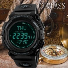 ราคา 1290 Men เข็มทิศนาฬิกานับถอยหลังนาฬิกากีฬานาฬิกากันน้ำ Relogio Masculino Skmei ออนไลน์