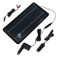 ซื้อ 12V 8 5W Power Solar Panel Trickle Battery Charger Car Suv Truck Unbranded Generic