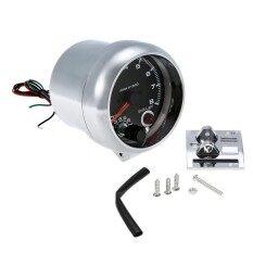 ซื้อ 12V Car 3 75 Tachometer Tacho Gauge With 7 Led Colors Shift Light 8000 Rpm Intl ออนไลน์ ถูก