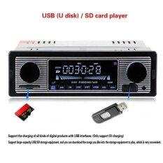 ซื้อ 12V Car Handsfree Wireless Bluetoth Fm Transmitter Lcd Mp3 Player Usb Charger Intl Unbranded Generic เป็นต้นฉบับ