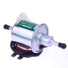 ขาย 12V Electric Petro Fuel Pump Facet Cylinder Style Car Van Universal Silver Intl ออนไลน์
