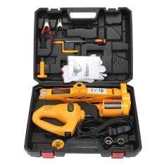 ราคา ราคาถูกที่สุด 12V Electric Scissor Lifting Jack Car Impact Wrench Tire Change Repair Tool 2Ton Intl