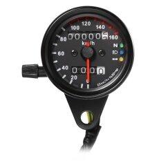 ส่วนลด 12 โวลต์มอเตอร์ไซด์ Speedometer ไฟแบ็คไลท์ Led เครื่องวัดระยะทางรถจักรยานยนต์ Unbranded Generic