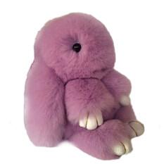 ขาย 13 เซนติเมตรกระต่ายขนพวงกุญแจกระเป๋าจี้ตุ๊กตาน่ารักมินิตุ๊กตาตุ๊กตาสีม่วง จีน