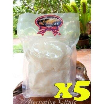 ดำรงพานิช มะพร้าวแก้วน้ำหอมสุญญากาศ ของฝากจากเมืองเลย 150 g.x 5 ถุง Dumrongpanich processed fragrant coconut juice 150 g.x 5 sachets