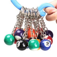 ซื้อ 16Pcs Snooker Ball Set Keychain Billiards Pool Keyring Gift 25Mm ใน จีน