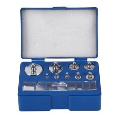 ขาย 17Pcs 211 1G 10Mg 100G Grams Precision Calibration Weight Set Test Jewelry Scale Intl ถูก