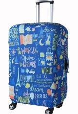 ซื้อ 19 22 Inch Travel Luggage Suitcase Protective Cover Bag S Intl Unbranded Generic เป็นต้นฉบับ