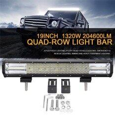 ราคา 19 Inch Quad Row Led Work Light Bar Spot Flood Combo Off Road Driving Suv Boat Intl Unbranded Generic